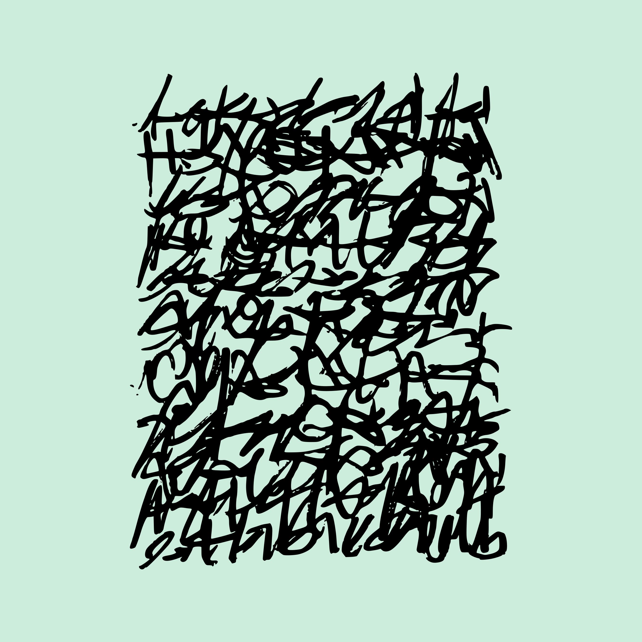 Motif Typographie